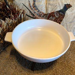 VTG stoneware bake dish, Japan, mid century, EUC